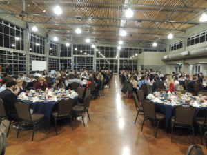 More than 300 faculty and students from 37 schools in six states attended the Best of the South Awards Banquet in the Wilma Rudolph Special Event Center in Clarksville, Tennessee, on Feb. 19.